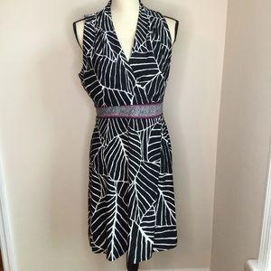 Black Sleeveless Dress White House Black Market M